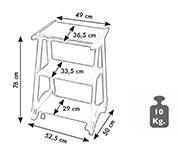 Carrello legno CA 308 SABRY LEGNO