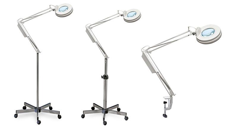Produzione lampade per centri estetici